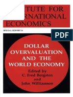 Bergsten & Williamson - Dollar Overvaluation and the World Economy (2003)