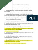 10 Point Agenda