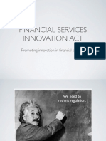 McHenry Bill Explainer Finncial Services Innovation Act of 2016