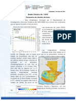 Boletin Climatico 1-2015