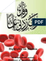 Highlights on Anemia - Copy - Copy Part 1