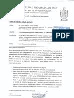 Carta de Entrega de Documentos