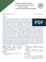 Propiedades químicas y fisicas de los hidrocarburos