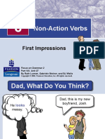 Unit 27 - Non-Action Verbs