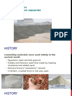Lecture 13 - Cement Industries