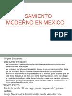 Pensamiento moderno en México