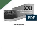 Congreso argentino de hematología - vol17