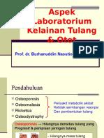 Aspek Laboratorium Kelainan Tulang & Otot Rev