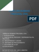 Derecho Procesal Romano Civil