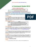 Windows Command Guide 2010