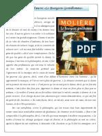 Résumé «Le Bourgeois Gentilhomme»