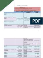 Calendario Derecho Familiar Dra. Sara Esteban Cabrera