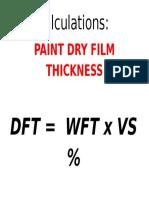 Calculations DFT P