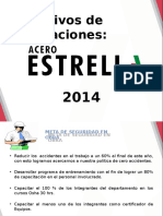 OBJETIVOS DEPARTAMENTALES 2015
