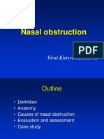 Nasal Obstruction -Lecture Part