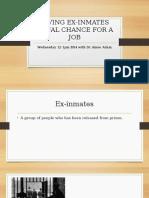 ex-inmate