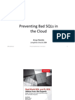 Preventing Bad Sqls in Cloud