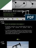 BOMBEO MECANICO producción