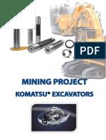 11A) Brochure Pins Bushing Mining Komatsu Excav