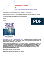20-07-2016-Divulgation Cosmique-L'Ascension Spirituelle Contre La Technologie-A-LIRE