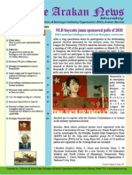 English-The Arakan News May 2010 News Letter