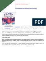 28-07-2016-Divulgation Cosmique-Les Etres Plasmas Et Les Entités Éthériques-A-LIRE