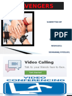 Video Conference Ppt