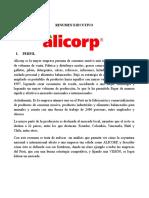Resumen Ejecutivo - ALICORP