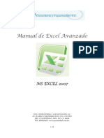 Manual de Excel Avanzado