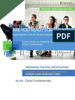 MTA 98-369 Cloud Fundamentals - Study Guide