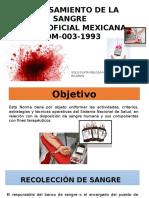 Procesamiento de La Sangre