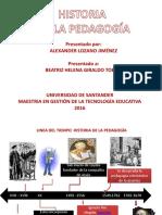 Pedagogia Historia