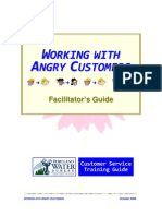 Working With Angry Customers. Leader's Guide