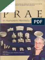 P R A E in honorem Henrieta Todorova