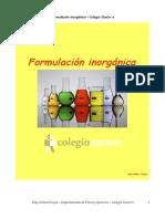 Física y Química -Eso-Apuntes - Formulación Inorgánica-1