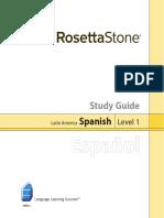 Spanish (Lat Am) 1 Study Guide