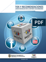 Redes Sociales Lineamientos 2011