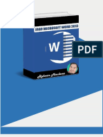 Jago Microsoft Word 2013