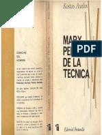 Axelos, Kostas - Marx, Pensador de La Técnica, Ed. Fontanella, 1969