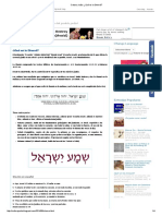 Cultura Judía_ ¿Qué Es La Shemá