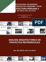 Modelo de Análisis de proyectos arquitectonicos