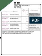 Rotor Steel Chain Catalog Link Assemblied Miniescavator Type 2014
