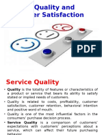 Service Quality & Customer Satisfaction