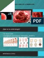 Capitulo 1- Importancia Clinica de La Embriologia