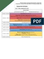 Complete Schedule