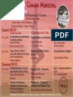 Programação Festival de Yoga - Câmara Municipal