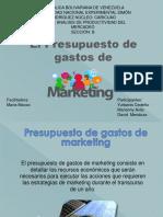 Presupuesto de Gastos de Marketing