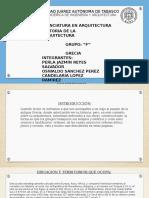 Grecia Antigua (Historia de La Arquitectura 1F