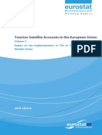 Tourism Satellite Accounts in the European Union 1 2009
