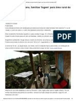 Cansadas Do Urbano, Famílias 'Fogem' Para Área Rural Do Município de SP - 16-08-2015 - Cotidiano - Folha de S